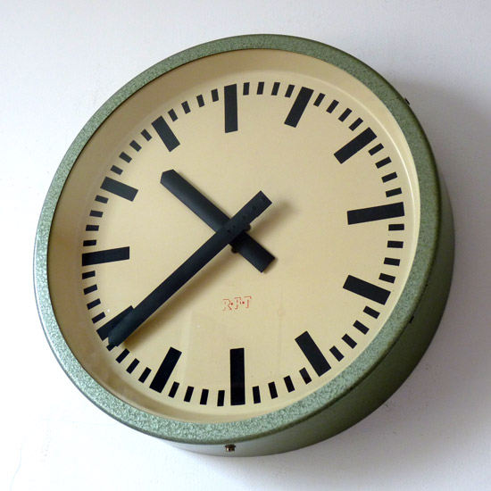 RFT Industrial Clock